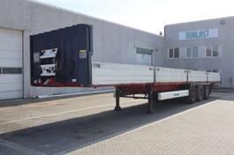 flatbed semi trailer Krone alusider 2012