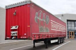 sliding curtain semi trailer Krone 34 pl. med foldelift 2013