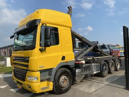 container truck DAF CF 85 FAK 8X2 + VDL HAAKARM 2011