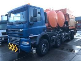 bitumen sprayer truck DAF CF 85 .410 8X4 BITUM MANUAL - ONLY 8509KM 2011