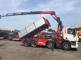 tipper truck > 7.5 t DAF CF85-480 8X4 FULL STEELSPRING, MANUEL GEARBOX, HMF 2223 YEAR 2009K5 REMO... 2005