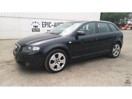 hatchback car Audi A3 Sportback 2.0 TDI 140pk Attraction Pro Line 2007