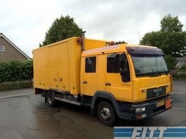 closed box truck > 7.5 t MAN LE12.220 dub.cab 2005