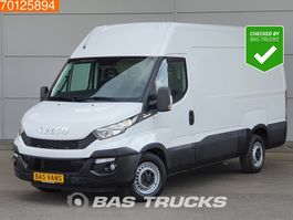 closed lcv Iveco Daily 35S13 Automaat Camera Airco Cruise L2H2 12m3 A/C Cruise control 2016