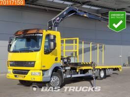 platform truck DAF LF45.220 4X2 NL-Truck Crane Kran Hiab 111 DUO 2007