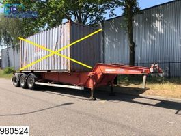 container chassis semi trailer ASCA Container 20 FT, Twistlocks 1998