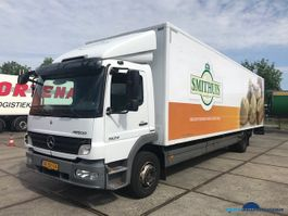 closed box truck > 7.5 t Mercedes Benz ATEGO 1524 L closed box-Taillift 2009