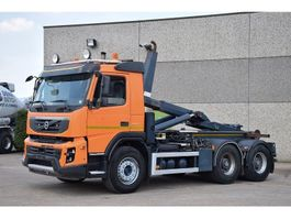 container truck Volvo FMX 460  6X4  CONTAINER SYSTEEM  -  CONTAINER HAAKSYSTEEM -  SYSTEME CON... 2012