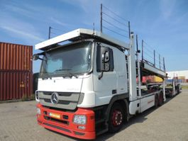 car transporter truck Mercedes Benz ACTROS 2536 LL MIDLIFT 2009