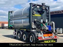 tank semi trailer semi trailer Kaessbohrer V2A Gülle 30 m³, VOGELSANG- Pumpe, MIETEN? 2019