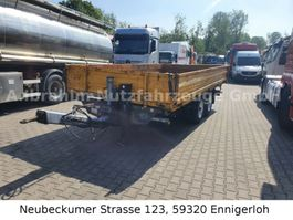 tipper car trailer Humbaur HTK 105025 TA-BE, mit Rampen