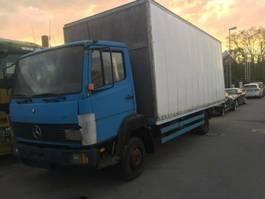 closed box lcv < 7.5 t Mercedes Benz 814 koffer blatt blatt