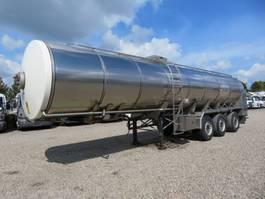 tank semi trailer semi trailer VI-TO 32.000 l. Lebensmittel // Milk 2011