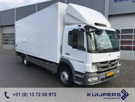 closed box truck > 7.5 t Mercedes Benz ATEGO 1218 L / Box / Loadlift 2012