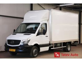 closed box lcv < 7.5 t Mercedes Benz Sprinter 514 CDI EURO 6 BAKWAGEN MEUBELBAK LAADKLEP VERHUISWAGEN AIRCO C... 2017