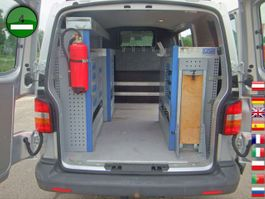closed lcv Volkswagen T5 Transporter 2.5 TDI 4Motion KLIMA AHK GEWA We 2006