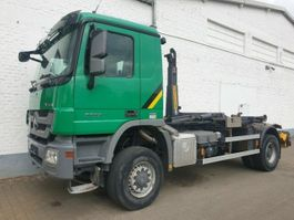 swap body truck Mercedes Benz Actros 2032 A, MP 3, 4x4 Actros 2032 A, MP 3, 4x4 Hyva Abrollanlage 2012