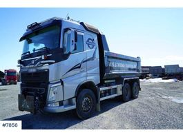 tipper truck > 7.5 t Volvo FH-13 540 with two boxes and trailer 2016