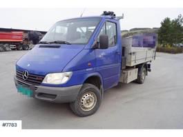 tipper truck > 7.5 t Mercedes Benz Sprinter 4x4 tipper truck with crane and 3 way tip 2000