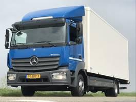 closed box truck > 7.5 t Mercedes Benz MERCEDES-BENZ 1218. EURO6. 700x250x225. Bakwagen met laadklep. in Topstaat! 2014