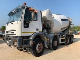 concrete mixer truck Iveco EuroTrakker 410E42H CIFA 8x4 2000
