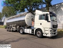 tank semi trailer semi trailer Magyar Food 32000 Liter, 2 Compartments, Milk, Food, Isolated,, nourriture, Leb... 2007