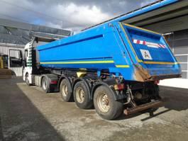tipper semi trailer Kögel SKM 24 3-Achs-Stahlmulde Liftachse 24 cbm