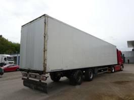 closed box car trailer Tracon Trailers TO2 2-Achs-Koffer Lenkachse