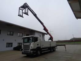 Pritsche offen LKW Scania R 440 6x2 6,6 M Fassi F215AS22 Lenkachse