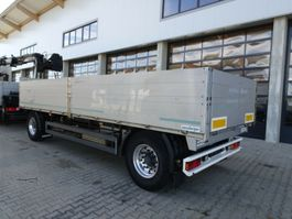 drop side full trailer Meusburger MPA-2 Baustoffanhänger 7,3 M Verzinkt