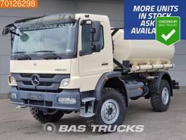 tank truck Mercedes Benz Atego 1317 4X4 4x4 Manual Fueltank 7.000L Euro 2 2020