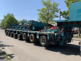 other semi trailers Goldhofer THP/SL3 + THP/SL3 + THP/SL2 + excavator Lowbed 2003