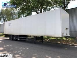 closed box semi trailer Schmitz Cargobull gesloten bak Disc brakes 2003