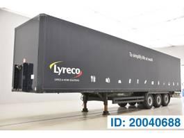closed box semi trailer Kögel Box semi-trailer 2010