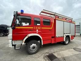 ambulance lcv Mercedes Benz Atego 1528 4x4 Doka Atego 1528 4x4 Doka, HLF 20/16 2007