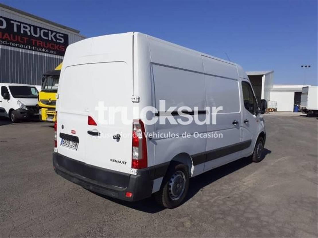 closed box lcv < 7.5 t Renault Master 125.35 2015