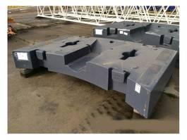other equipment part Terex Demag explorer 5600 9,7 ton