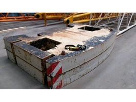 other equipment part Terex Demag AC 350-1 counterweight 10 t