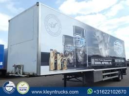 closed box semi trailer Draco TZA 122 2002