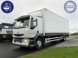 closed box truck > 7.5 t Renault MIDLUM 270 DXI 2014