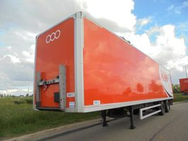 closed box semi trailer Groenewegen 2-Axle Box / BPW Axles / NL Trailer / Multiple Units / Drumbrakes 2008