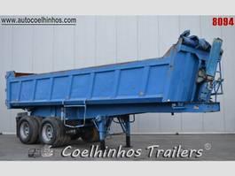 tipper semi trailer Kaiser S330 2G 1C 1989
