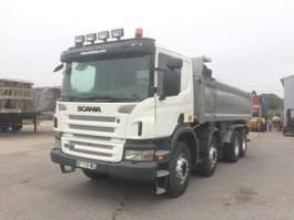 tipper truck > 7.5 t Scania P 2008