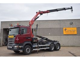 container truck Scania R 480 6X4  CONTAINERSYSTEEM - HAAKSYSTEEM 2009