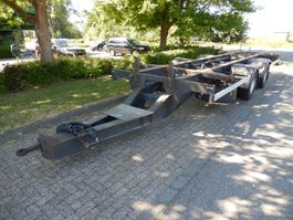 swap body trailer Pacton MXA 220 2 As Aanhangwagen T.b.v. BDF laadbakken - Containers, WS-21-PL 1997