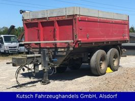 tipper car trailer Müller-Mitteltal KA-TA 18 Tandem Kipper 1m + 25cm Alubordwände