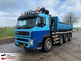camión contenedor Terberg FM 1850 -T8x4 Euro 5 Haakarm met HMF Z-kraan remote control 2009