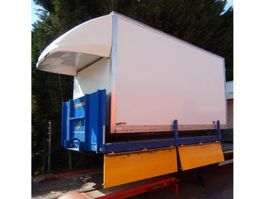 Closed body lcv part Auto Laadbak 426 x 209 x 231 cm - Achterdeuren - Licht doorlatend dak 2016