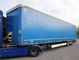 tilt trailer Krone SZP 18 2-Achs Mega Curtainside Hubdach Multilook 2016
