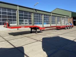 semi lowloader semi trailer Nooteboom OSD-50-04V | 4x SAF | 670cm Extendable 2005